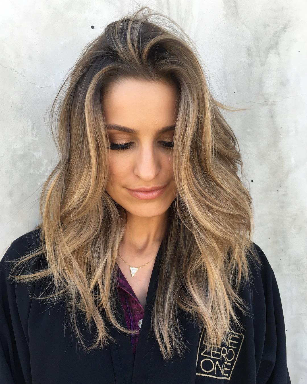 Красивые цвета волосы 2017