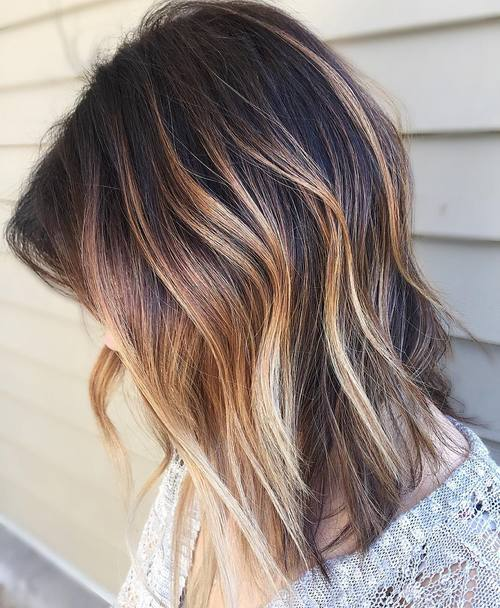 13-bronde-balayage-for-dark-brown-hair 2017 Hair Color Trends-20 Amazing New Trends in Hair Color to Try
