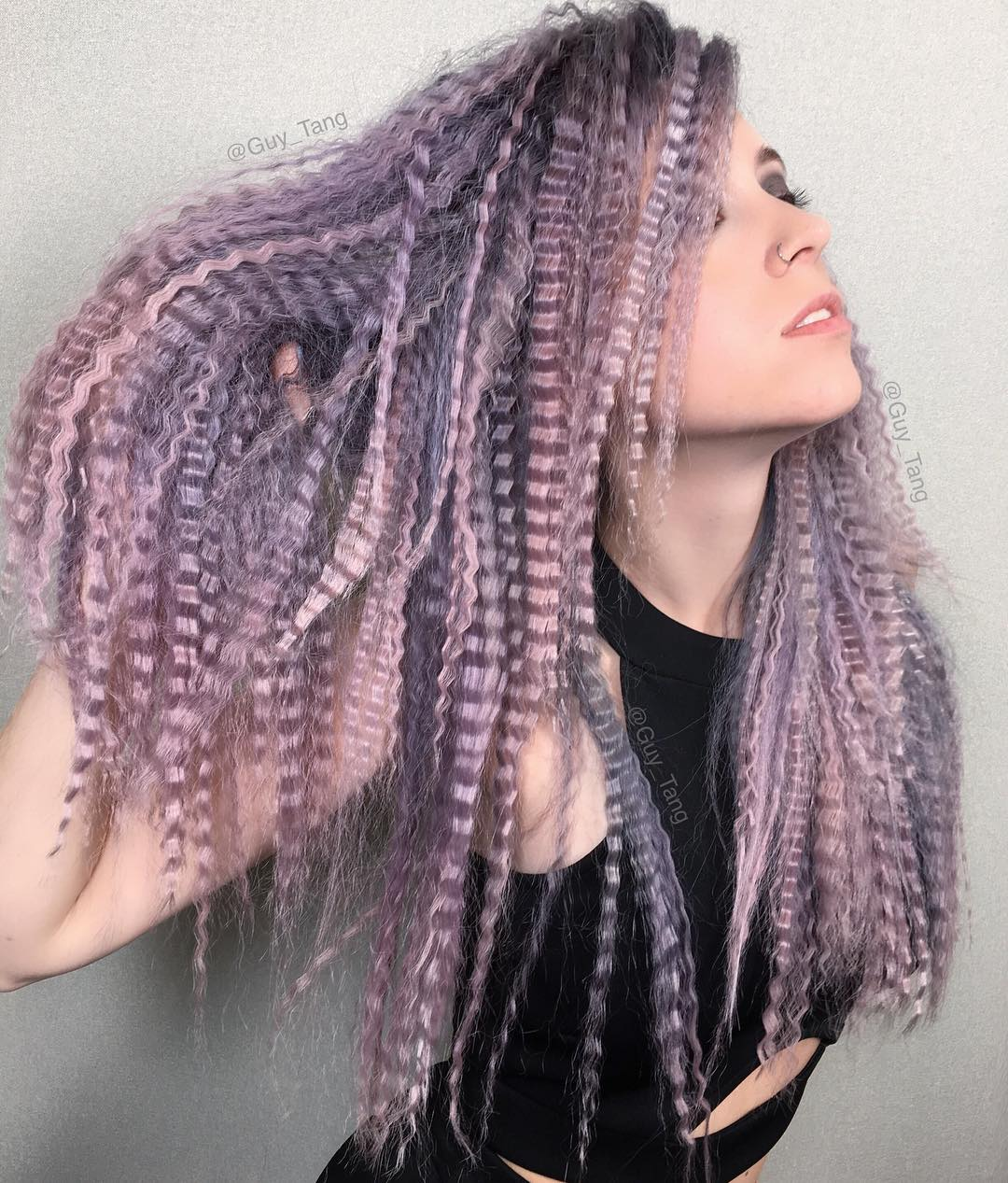 20 trendsetting crimped hairstyles