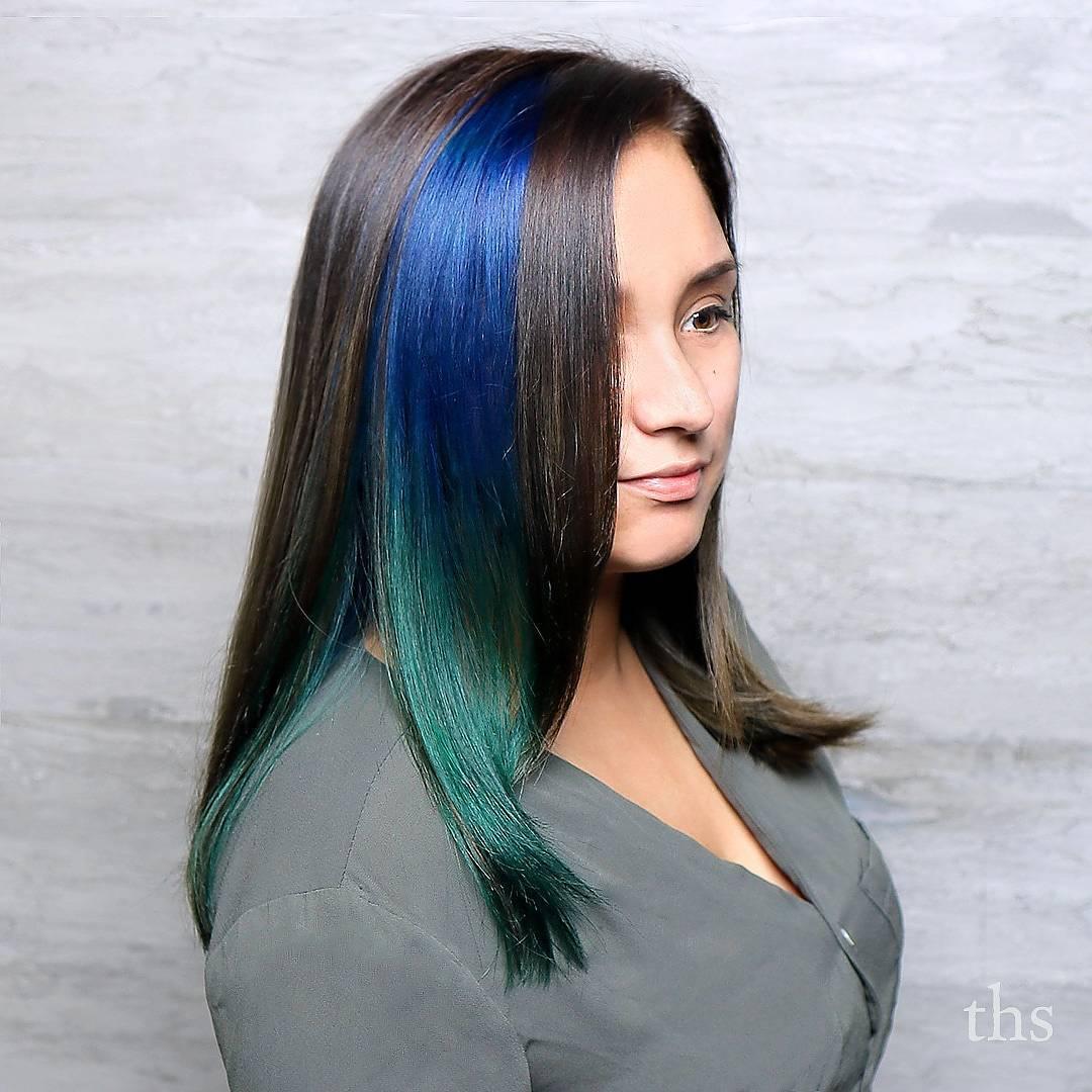20 ways to rock green hair