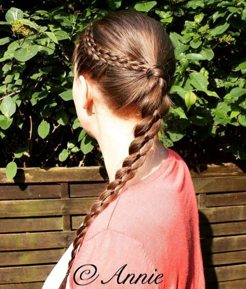 Strand Braid For Long Thin Hair
