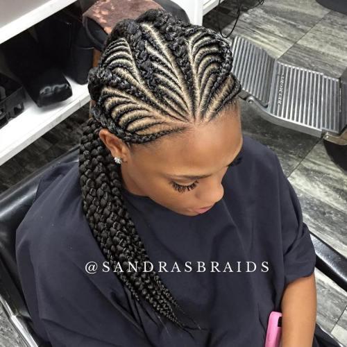 Thick And Thin Ghana Braids