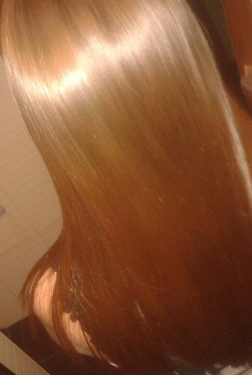 Glossy Hair