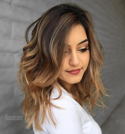 Light Brown Balayage Hair