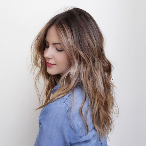Long Messy Beach Waves