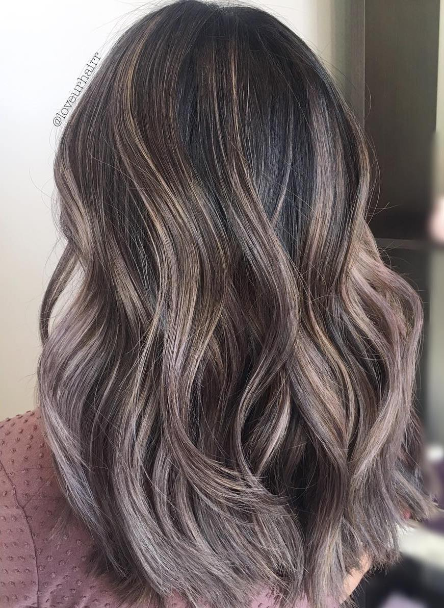 Long Bob Ombre Braun 20 Stunning Examples Of Mushroom Brown Hair Color