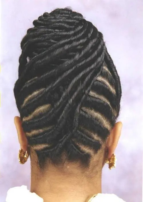 Innovative Natural Hair Updo Flat Twist Updo With Twist Out Hair Of The Pictures
