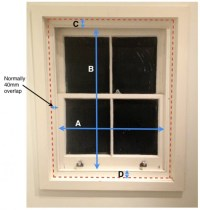 Measuring for thermal blinds for sash windows | The ...