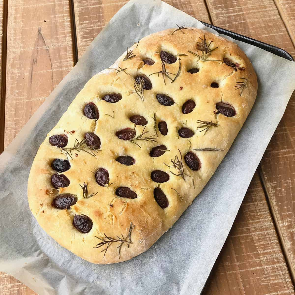 Kuchen Vegan Thermomix Thermomix Olive Rosemary Focaccia
