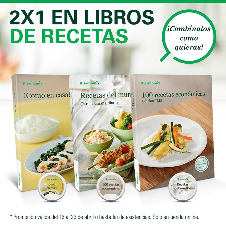 Libros De Thermomix 2x1 En Libros Digitales O En Papel Noticias Blog Blog De
