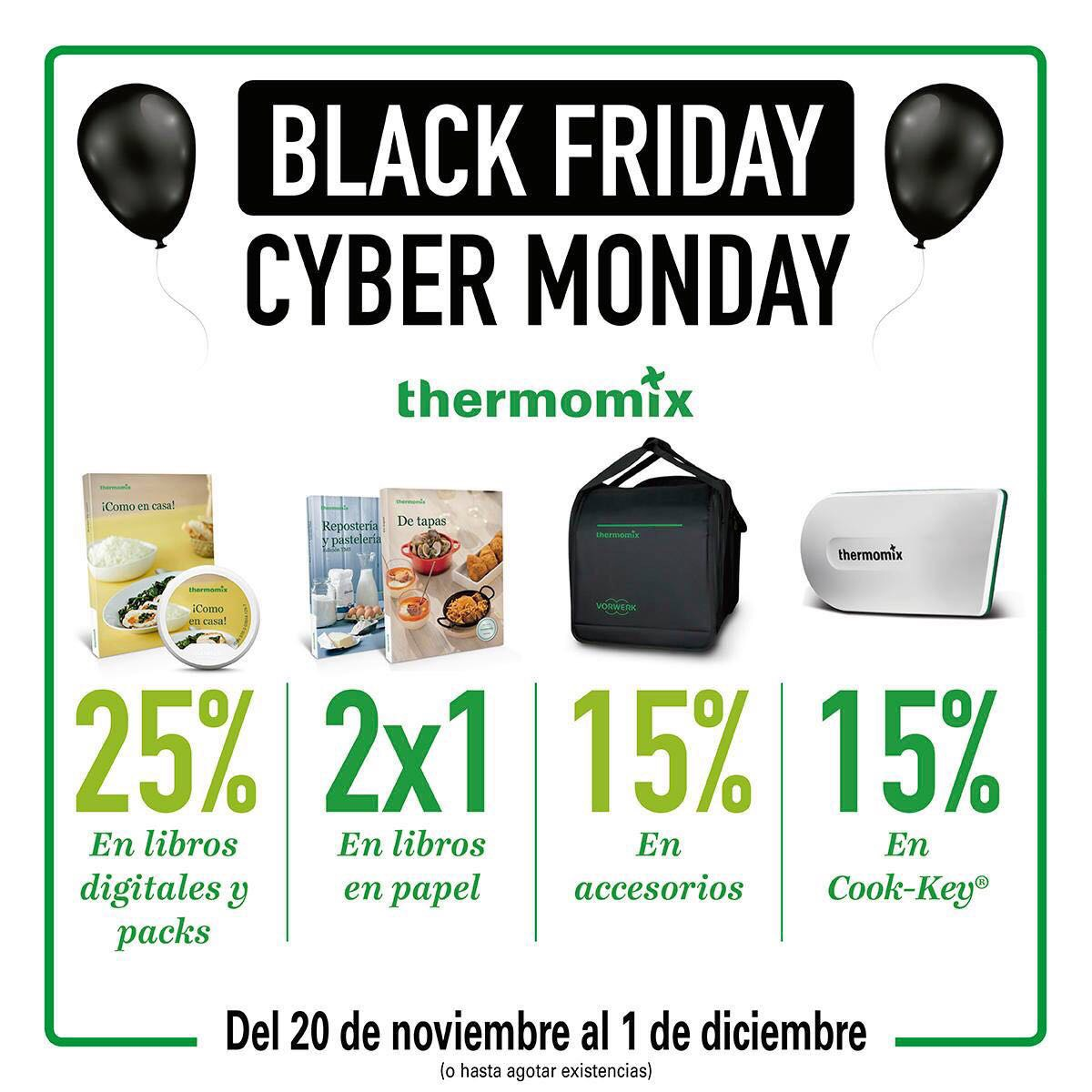 Libros De Thermomix El Black Friday Llega A Thermomix Noticias Blog Blog De