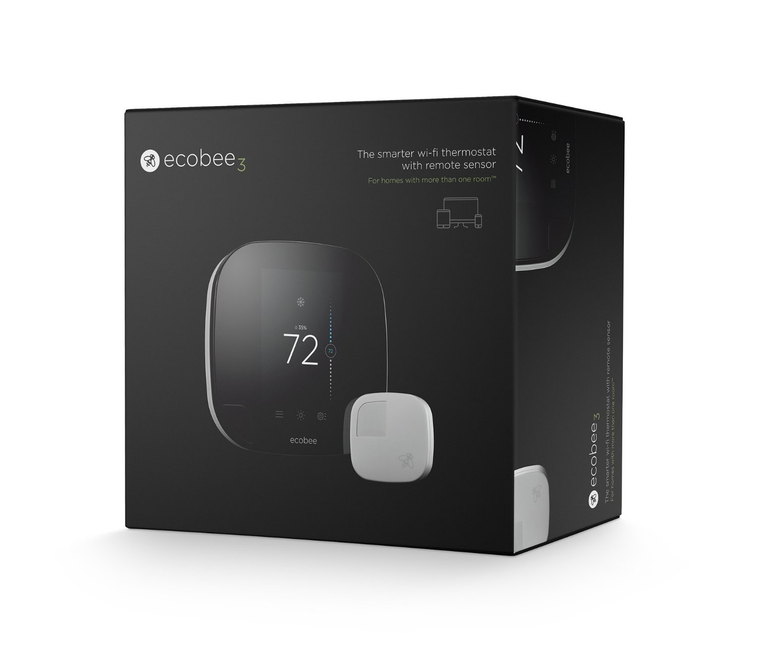 Ecobee Sensor Ecobee 3 Unboxing Best Digital Thermostat Reviews And Buying Guide
