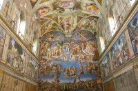 Sistine Chapel Ceiling Was Painted By This Artist  Shelly ...