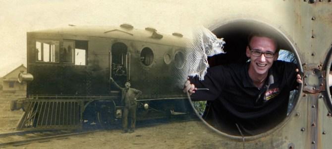 039: Teen Restoring a McKeen Railcar