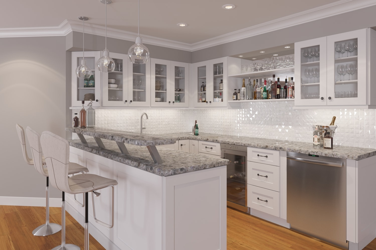 Doorless Kitchen Cabinets Brilliant White Shaker Ready To Assemble Kitchen Cabinets The