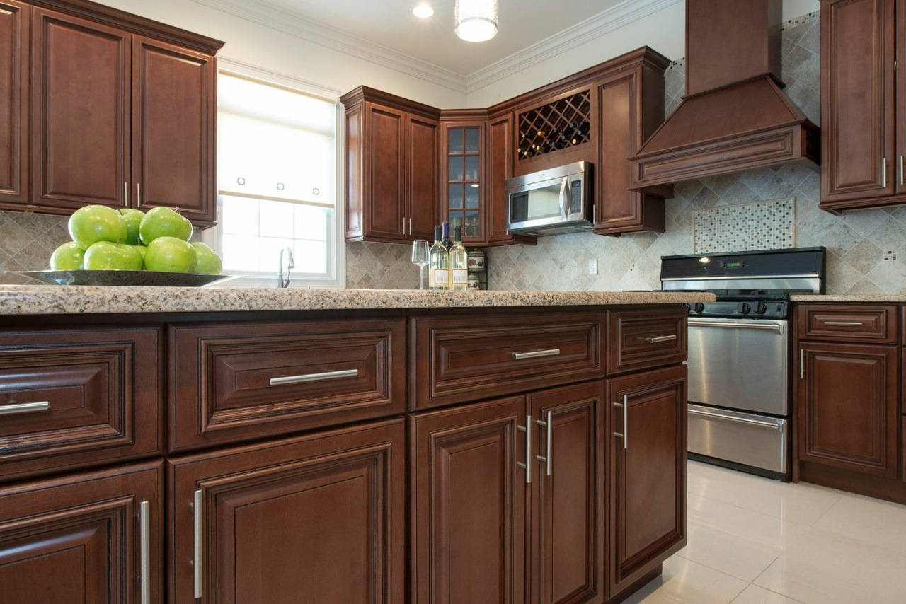 Kitchen Cabinets Pictures Photos Signature Chocolate Ready To Assemble Kitchen Cabinets