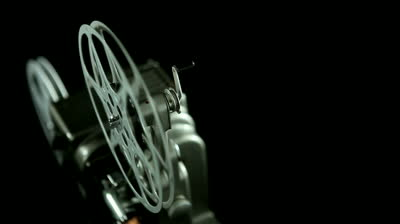 Bushra 3d Wallpaper Stock Footage Film Reel Of An Mm Vintage Projector And