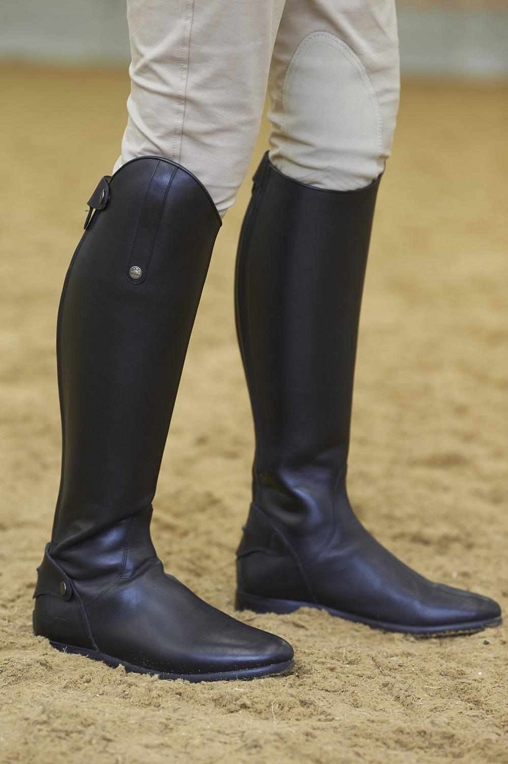 Comfort Fit Mark Todd Long Soft Leather Competition Riding Boots