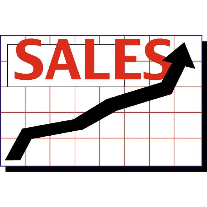 sales chart 2 Mark Hunter - Sale Chart