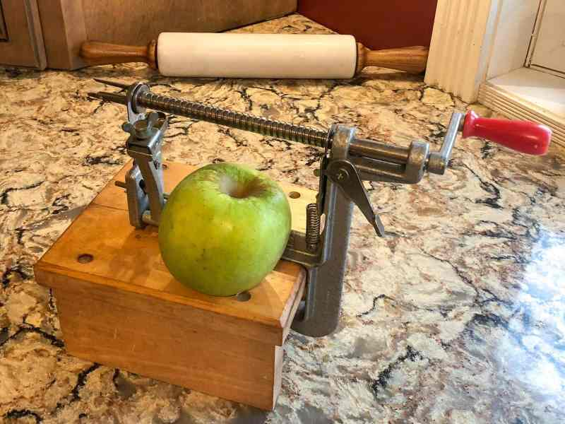Large Of Pampered Chef Apple Peeler