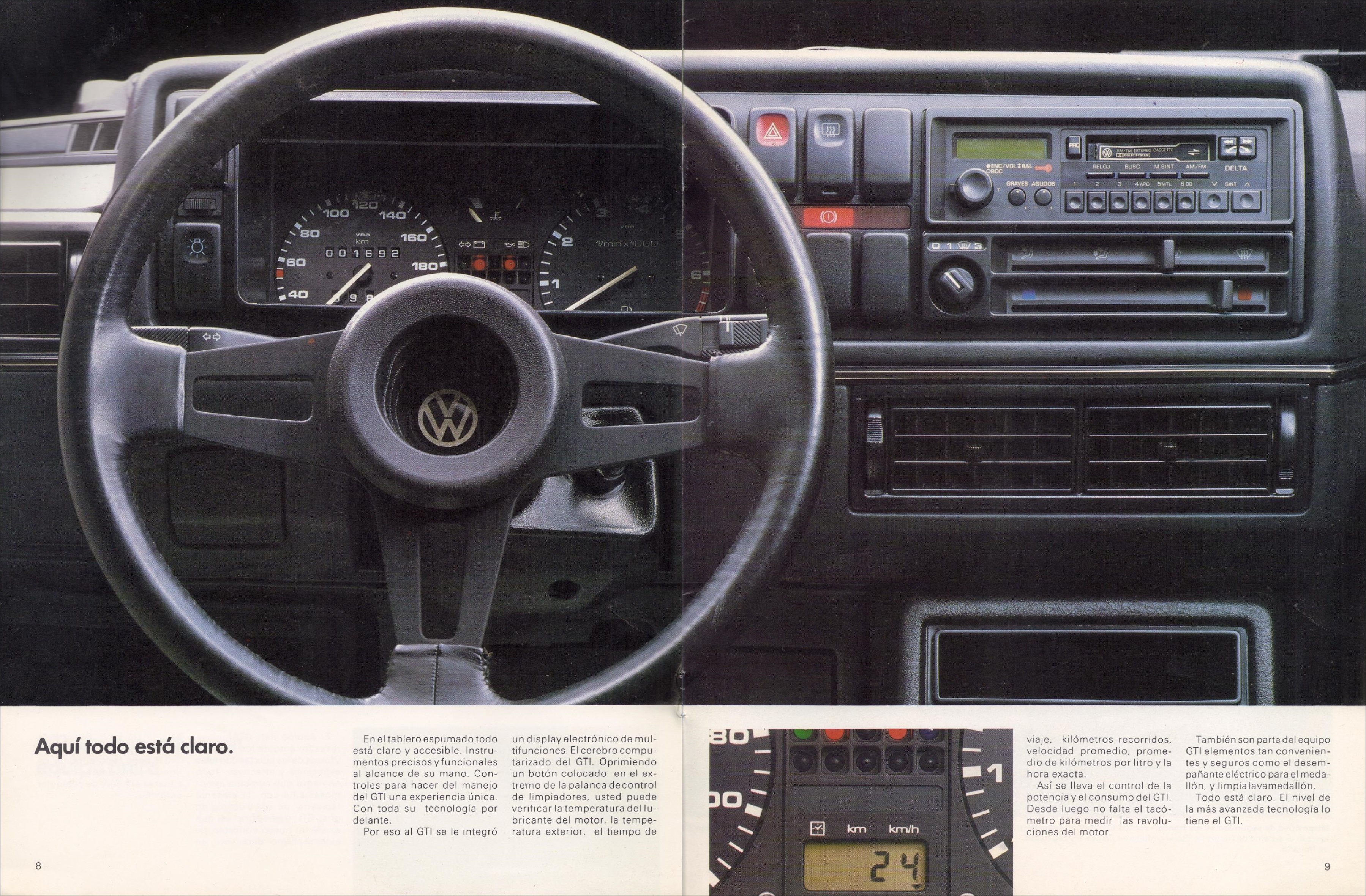Volkswagen Golf 1989 Thesamba Vw Archives 1989 Vw Golf Gti Brochure Mexico