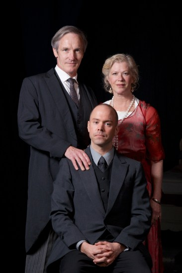 "(Top) Bruce Cromer as Claudius, Sherman Fracher as Gertrude and (Bottom) Brent Vimtrup as Hamlet in CSC's 2014 production of Shakespeare's ""Hamlet"" January 10- February 9, 2014, directed by Brian Isaac Phillips. Performances are located at CSC's Theatre , 719 Race Street in downtown Cincinnati. Tickets are $22-35 and are available online at cincyshakes.com or by calling the box office 513.381.2273. By J. Sheldon Photo."