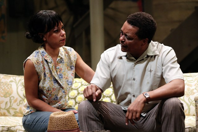 Zina Camblin and Bryant Bentley star in DETROIT '67 at Ensemble Theatre
