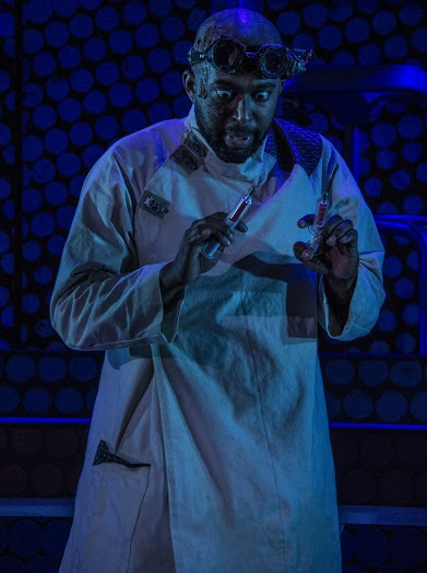 James Creque in HEARTS LIKE FISTS by Adam Szymkowicz at Know Theatre of Cincinnati / Photo by Daniel R. Winters