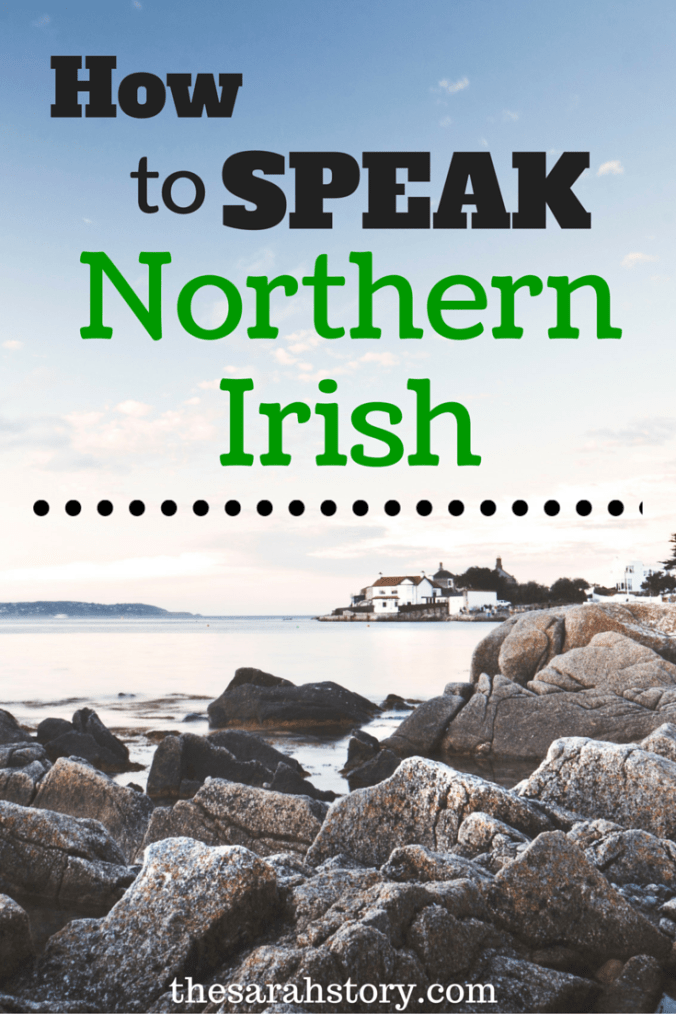 how to speak with an irish accent