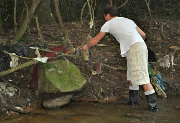 CROW River Clean-up.