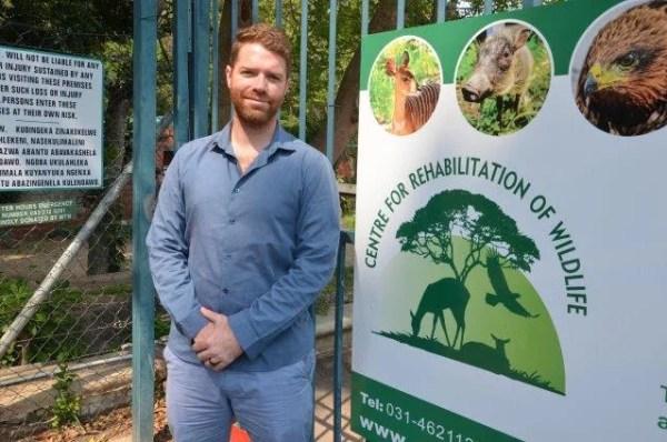 Director of the Centre for Rehabilitation of Wildlife (CROW), Paul Hoyte