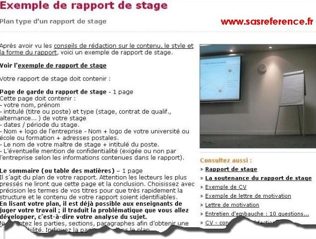 faire son cv une de journal