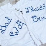 Doctor Who Bad Wolf / Blaidd Drwg TShirt $35