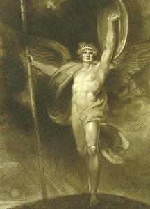 Richard Westall, Satan Alarm'd (1794)