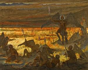 Estella Canziani, Satan awakening his legions (1913)