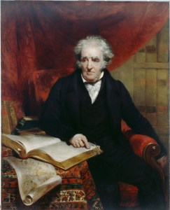 John Wood, Portrait of Thomas Stothard (1833)