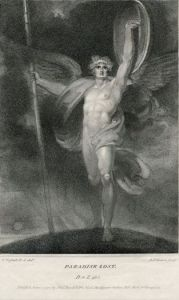Simon Jean Pierre, after Richard Westall, Satan Alarmed—Dilated Stood (1794)