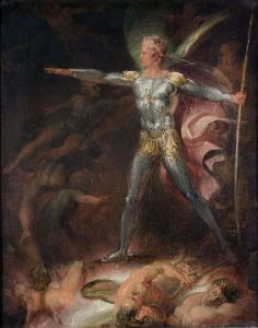 Thomas Stothard, Satan Summoning His Legions (ca. 1790)
