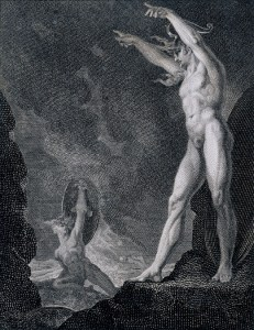 William Bromley, after Henry Fuseli, Satan calling up his Legions (1802)