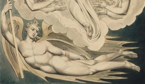 William Blake, (Detail) Christ offers to Redeem Man (1808)