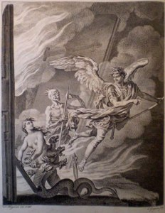 Charles Grignon, after Francis Hayman, Paradise Lost, Book II (1749)