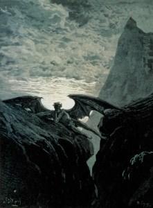 François de Ligny, after Gustave Doré, Night Her Course Began (1882)