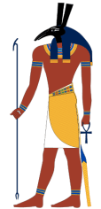 Set, ancient Egyptian god of the desert