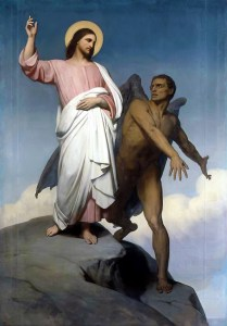 Ary Scheffer, Temptation of Christ (1854)