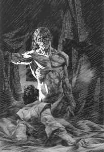 Frankenstein, illustrated by Bernie Wrightson