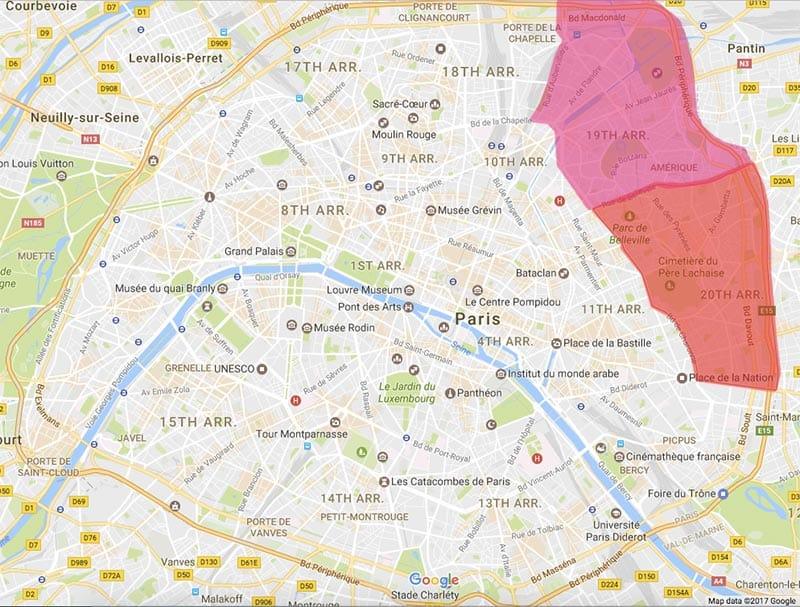 Safest Places In Paris - LTT