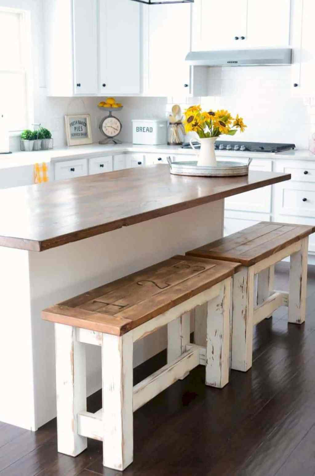 Joanna Gaines Farmhouse Bar Stools 10 Farmhouse Kitchen Decor Ideas That Would Make Joanna