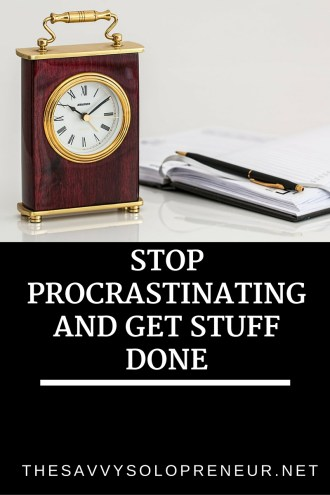 Stop Procrastinating and Get Stuff Done
