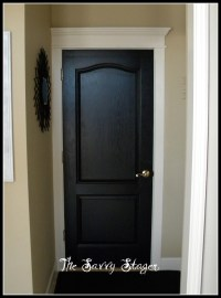 black door | The Savvy Stager