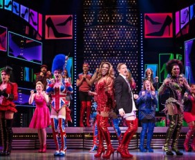 Canadian Cast of Kinky Boots. Mirvish Productions. TheSceneinTO.com
